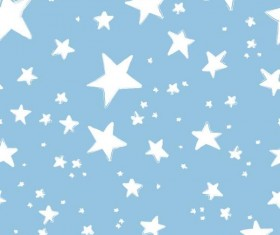 Seamless star pattern vector material 03