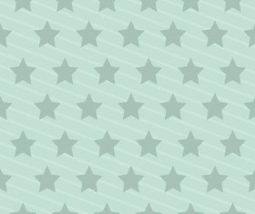 Seamless star pattern vector material 05