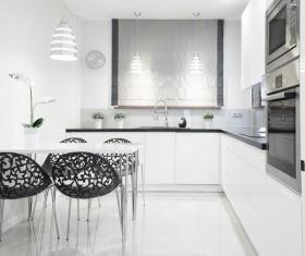 Simple Open kitchen Stock Photo 05