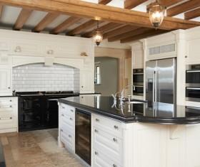 Small Open kitchen Stock Photo 04