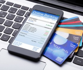 Smartphone payment Stock Photo 04