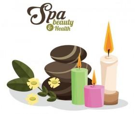 Spa beauty health design vector material 06