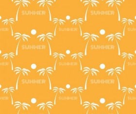 Summer holiday styles seamless pattern vector 07