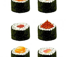 Sushi vector illustration