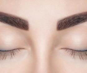 Tattooing eyebrow Stock Photo 02