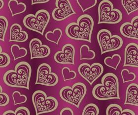 Valentine Day Wallpaper Seamless Pattern Background vector