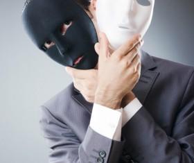 Wearing Mask Man Stock Photo 02