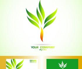 green treeshapes logo vector