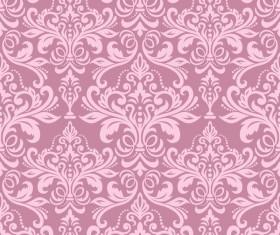 pink seamless wallpaper pattern vector material