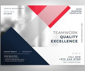 2020 modern business template vectors 02