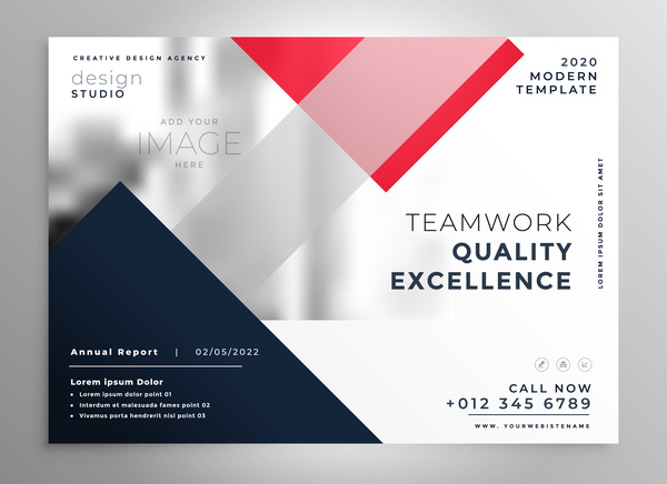 Business Card Design 2020.2020 Modern Business Template Vectors 02 Free Download