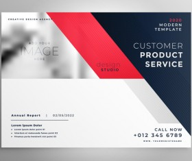 2020 modern business template vectors 03