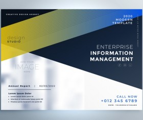 2020 modern business template vectors 04