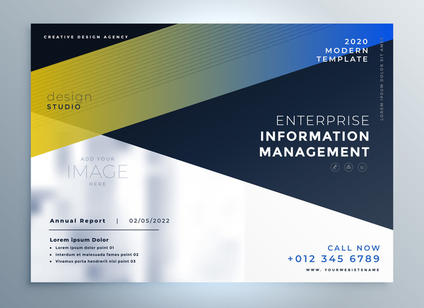 Business Template Vectors 04 Free