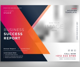 2020 modern business template vectors 05