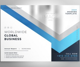 2020 modern business template vectors 06