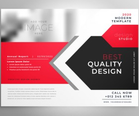 2020 modern business template vectors 08
