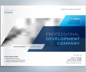 2020 modern business template vectors 09