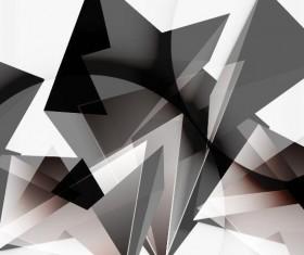 3D polygonal modern vector background