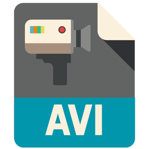 AVI Flat Icon