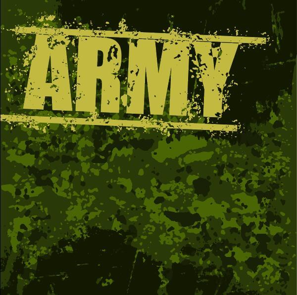 Army Background Grunge Vector Vector Background Free