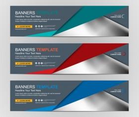Banner template craetive vectors 01