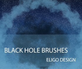Black Hole Photoshop Brushes