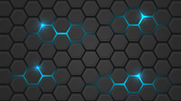 Calendar Design Eps File : Black hexagon carbon fiber background vectors vector