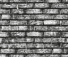 Brick wall grunge backgrounds vector
