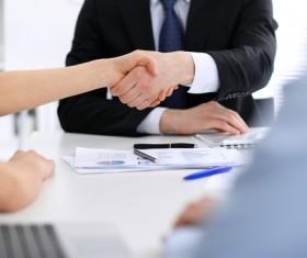 Business Handshake Stock Photo 01