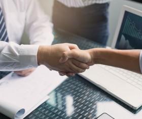 Business Handshake Stock Photo 04