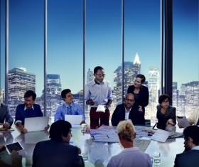 Business seminar Stock Photo 02