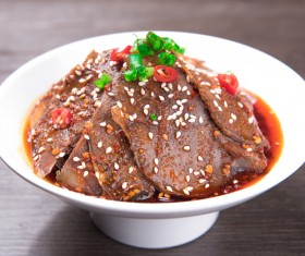China delicious spicy Sichuan cuisine Stock Photo 02
