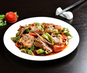 China delicious spicy Sichuan cuisine Stock Photo 03