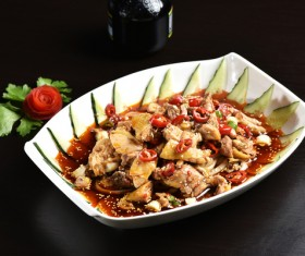 China delicious spicy Sichuan cuisine Stock Photo 05