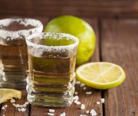Citrus cocktail a lime Stock Photo 01