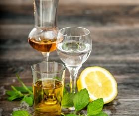Citrus cocktail a lime Stock Photo 04