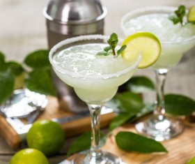 Citrus cocktail a lime Stock Photo 07