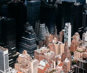 City Building group Stock Photo