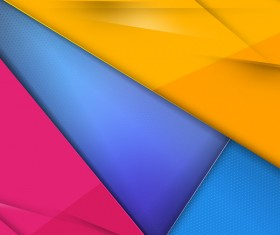 Colored geometry polygonal background vectors