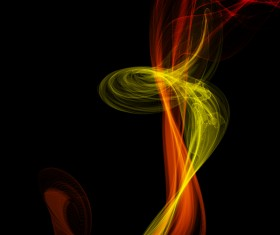 Colored smoke abstract vector