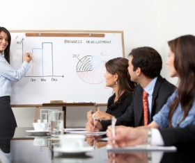 Commercial Market Share Conference Stock Photo 01
