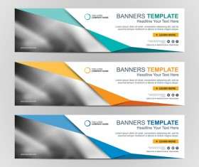Company banners template creative vectors 01