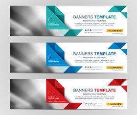 Company banners template creative vectors 02