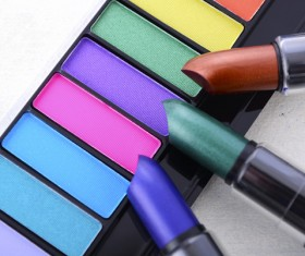Different colors of lipstick Stock Photo 02