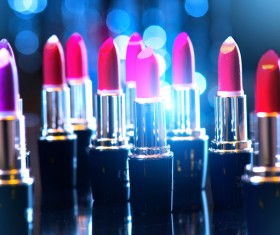 Different colors of lipstick Stock Photo 06
