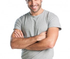 Different styles of handsome men Stock Photo 01