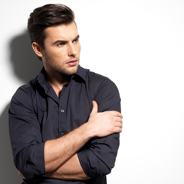 Handsome Hairstyles For Men: Different Styles Of Handsome Men Stock Photo 13 Free Download