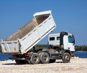 Dump truck Stock Photo 14