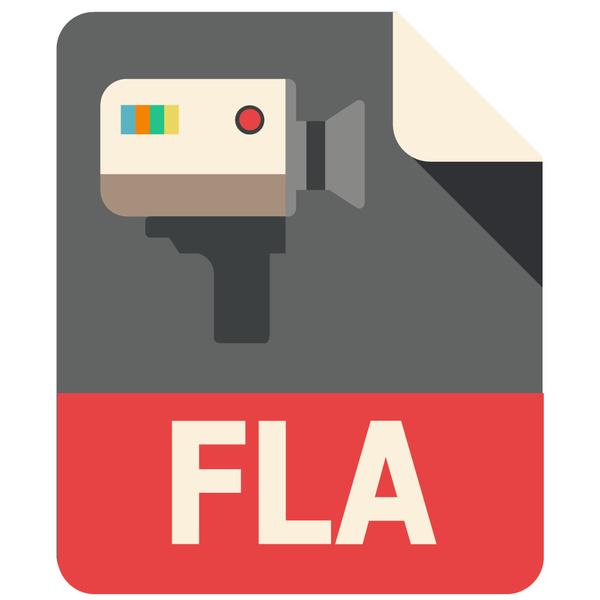 FLA Flat Icon
